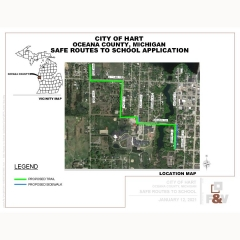 Safe Routes to School project Map